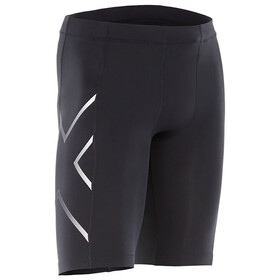 """2XU M's TR2 Compression Shorts Black/Silver"""